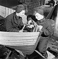 Women's Royal Naval Service- Wrens work on Assault Landing Craft, UK, 1944 D18184.jpg