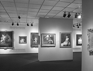 Women Artists: 1550-1950 - Image: Women Artists 1550 1950, Installed at the Brooklyn Museum October 1, 1977 through November 27, 1977 03