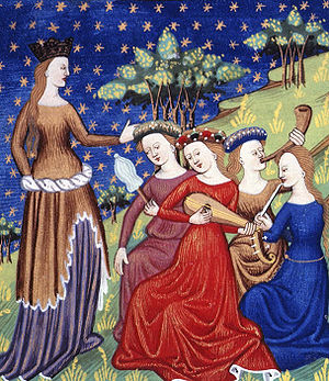 De Mulieribus Claris - Image: Women playing music