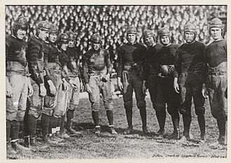 1920 California Golden Bears football team - Image: Wonder Team Cropped