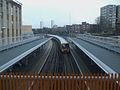 Woolwich Arsenal stn mainline high eastbound.JPG