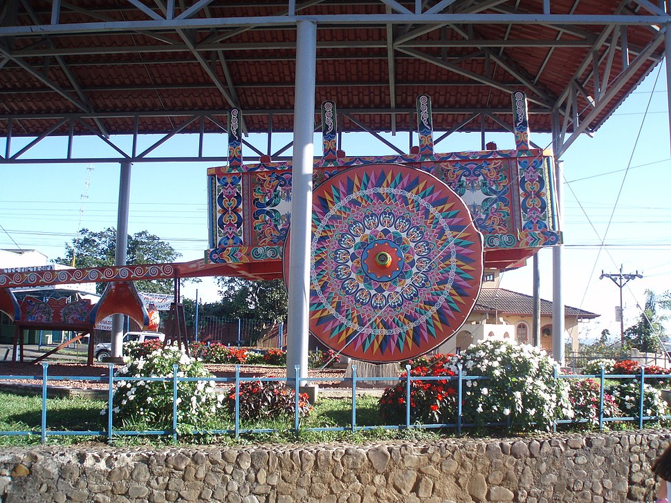 World%27s Largest Oxcart Sarchi Costa Rica