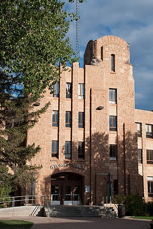 University of Wyoming - The west entrance of Wyoming Union