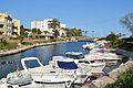 Xàbia, barques al canal de la Fontana.JPG