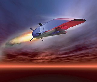 Boeing X-51 Waverider experimental unmanned aerial vehicle by Boeing