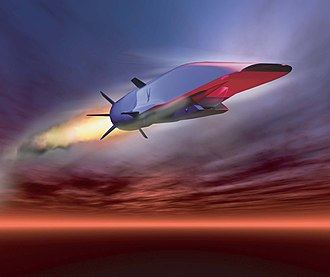 Boeing X-51 Waverider - Artist's concept of X-51A during flight