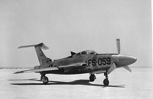 Republic XF-84H - Prototype 51-17059
