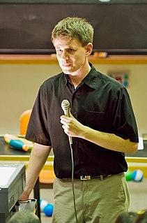 Randall Munroe creator of the webcomic xkcd