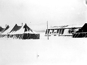 Metz-Frescaty Air Base - Y-34 Metz Airfield facilities during the winter of 1944/1945