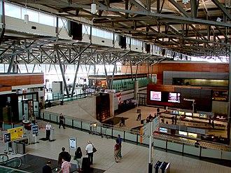 Ottawa Macdonald–Cartier International Airport - Terminal interior