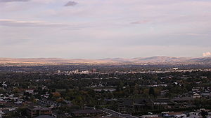 Yakima, Washington - Yakima, Washington as seen from the west.