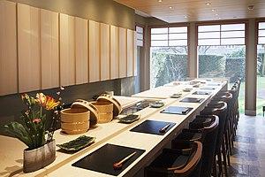 Yamazato - Yamazato Restaurant - sushicounter