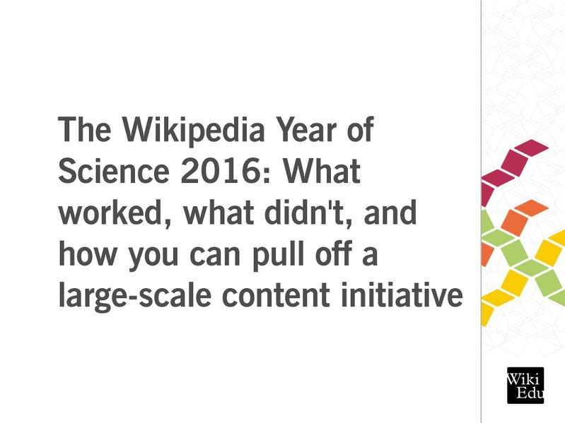 File:Year of Science Wikimania 2017.pdf
