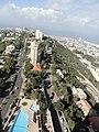 Yefe Nof street on the right and Ha'Nassi av on the left.JPG