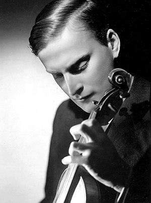 Yehudi Menuhin International Competition for Young Violinists - Yehudi Menuhin, the competition's founder and namesake.