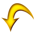 Yellow arrow curved down.png