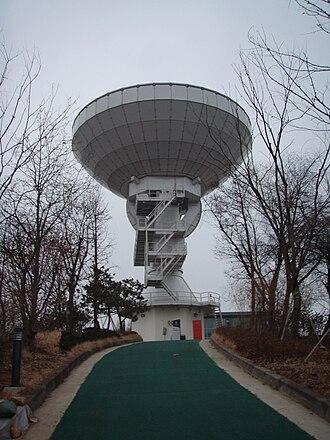 Yonsei University - Yonsei University Radio Observatory, part of the Korean VLBI Network