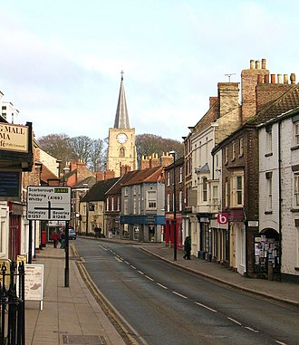 Malton, North Yorkshire - Yorkersgate, one of the main streets in town