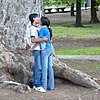 Young Couple Smooches in a Public Park - Cordoba - Argentina. cropped.jpg