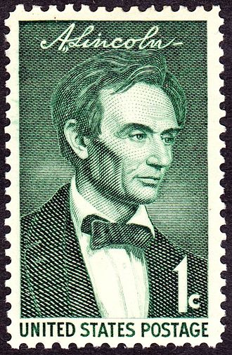 Presidents of the United States on U.S. postage stamps - The Young Abe Lincoln, Issue of 1959