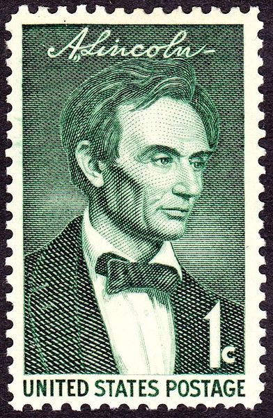 The First Stamp In Set A One Cent Value Was Issued 12 February 1959 At Hodgenville Kentucky Place Of Lincolns Birth It Featured Portrait