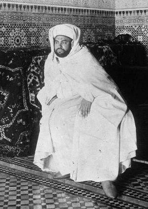 Yusef of Morocco - Yusef in 1920