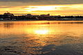 Zachód słońca na nabrzeżu Angary w Irkucku 02.JPG