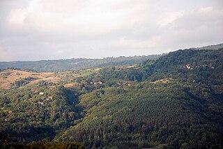Mačkatica Village in Pčinja District, Serbia