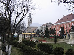 Sighetu Marmației's city center
