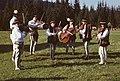 """Zespół Pieśni i Tańca """"Maśniaki"""" przy Okręgowej Podhalańskiej Spółdzielni Mleczarskiej w Zakopanem - Błękitna Polana - 000594s.jpg"""