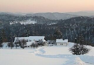 Zgonče Place in Lower Carniola, Slovenia