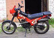 """Russian moped ZiD-50 """"Pilot"""""""