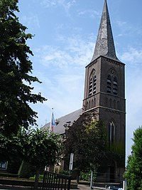 Zijtaart (N-Br, NL) church, edge view.JPG