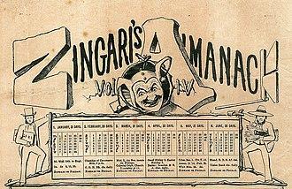 The Zingari - Image: Zingari Newspaper cover Dec 1874 Cape Colony
