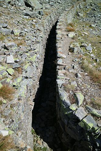 Schneekragen - Exposed schneekragen in the Schladming Tauern, Austria