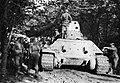Zsákmányolt szovjet T-34-76 típusú harckocsi. Fortepan 12201.jpg
