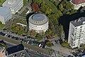 Zugló, Budapesti Metropolitan Egyetem a magasból.jpg