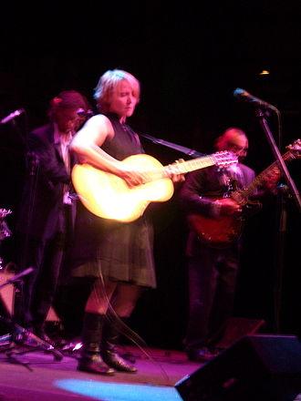 Zulya Kamalova - Zulya performing live with Children of the Underground in 2008.
