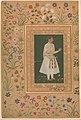 """""""Portrait of Raja Bikramajit (Sundar Das)"""", Folio from the Shah Jahan Album MET DP256231.jpg"""