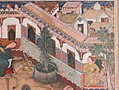 """The Spy Zambur Brings Mahiya to the City of Tawariq"", Folio from a Hamzanama (Book of Hamza) MET sf23-264-1c.jpg"
