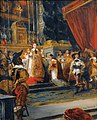 'Cardinal Richelieu Saying Mass in the Church of the Palais Royal' by Delacroix.jpg