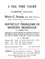 'Difficult problems in Modern Marriage'. Wellcome L0030238.jpg