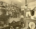 "(William Clark's Living Room) Parlor at Jefferson Kearney Clark Residence, ""Minoma"" with souvenirs of William Clark's career and travels.jpg"