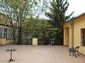 Áldásy house, now Theatre Museum. Courtyard. - Budapest District I.JPG