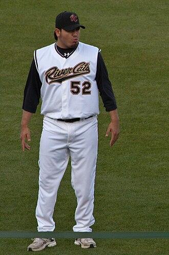 Édgar González (pitcher) - González with the Sacramento River Cats