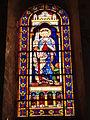Église Notre Dame et Saint-Junien de Lusignan, vitrail 04.JPG