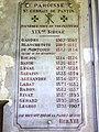 Église Saint-Germain de Pantin, plaquette curés XIXème.jpg