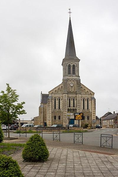 Français:  Église Saint-Pierre-aux-Liens de Congrier (France).