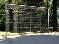 Łódź-goal in Źródliska Park.jpg