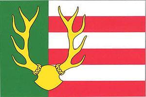 Železná Ruda - Image: Železná Ruda flag